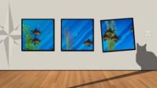 背景墙展示视频素材