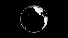 地球合成剪影元素