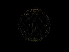 粒子地球视频背景