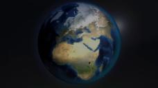 地球元素视频素材