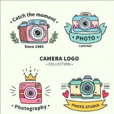 彩色影楼摄影工作室标志