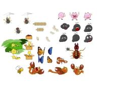 flash卡通动物造型