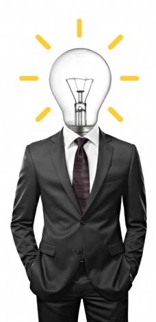 商务人物创意思考