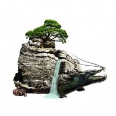 中国风风景png免扣元素