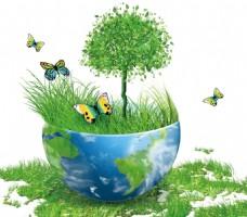 环保地球png免扣元素