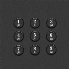 电话按键图案
