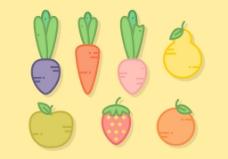 果蔬矢量素材
