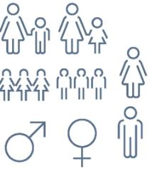 女性小图标
