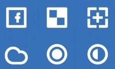 圆圈简单图标