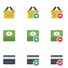 购物商务小图标