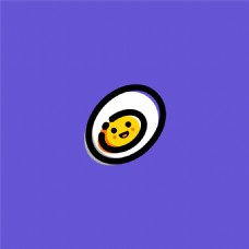 MBE卡通鸡蛋图标psd分层源文件