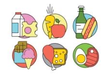 健康食物图标