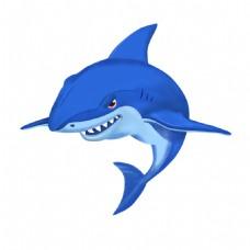 鲨鱼插画素材