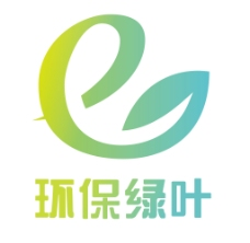 抽象树叶创意logo彩色