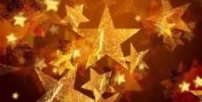 星光星星金色背景梦幻背景