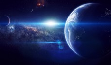 科技蓝色地球