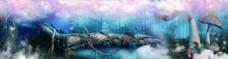 梦幻童话屋banner背景
