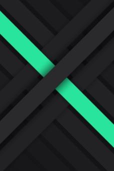 绿色黑色线条叠加背景