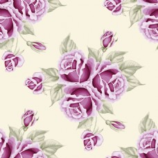 粉色复古拼接玫瑰花蕾丝矢量背景
