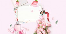 浪漫玫瑰照片背景