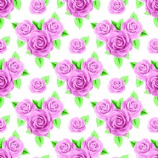 粉色花束玫瑰花蕾丝矢量背景