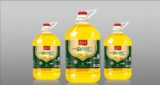 食用油瓶贴(平面图)