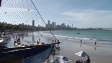 高清海边船只视频素材