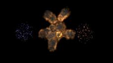 抽象地图元素背景视频