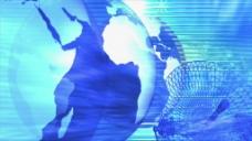 地球科技元素视频