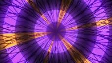 紫色放射元素视频