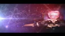 音乐跳动Plexus点线背景舞会