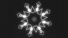 神秘MG风格动画Logo展示