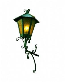 欧式复古路灯元素