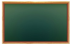 简约黑板png免扣元素