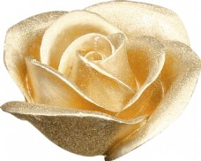 金色花朵元素素材