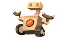 履带机器人矢量图