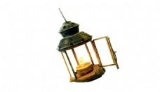 古老的灯烛光元素