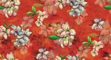 暗纹花朵图案设计