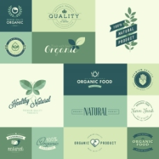 环保叶子企业餐饮行业logo