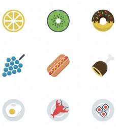 水果食物小图标