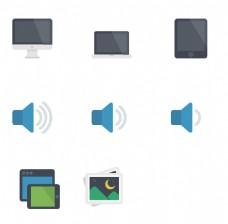 电脑技术媒体图标