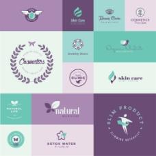 翅膀环保企业餐饮行业logo标志徽章