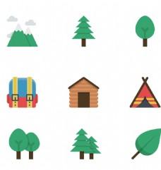 树叶自然小图标