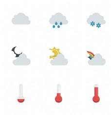 下雨天气图标