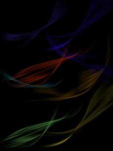 极光光纤光线流动免扣绚丽