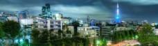 精美风景banner背景图片