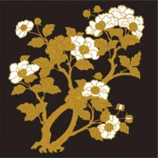 金色花树背景图