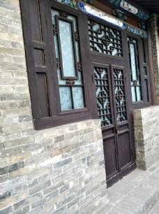 山西平遥古城民房门窗