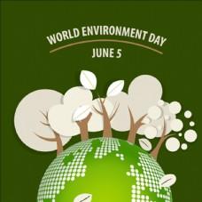 绿色生态世界环境日插图