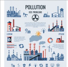 保护环境污染信息图表